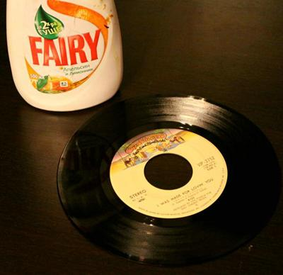 Fairy - как средство мытья грампластинок?