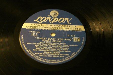 Stanley Black1969Latin Piano Double Deluxe (2LP)